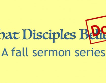 """Discipleship is Not Instant"""